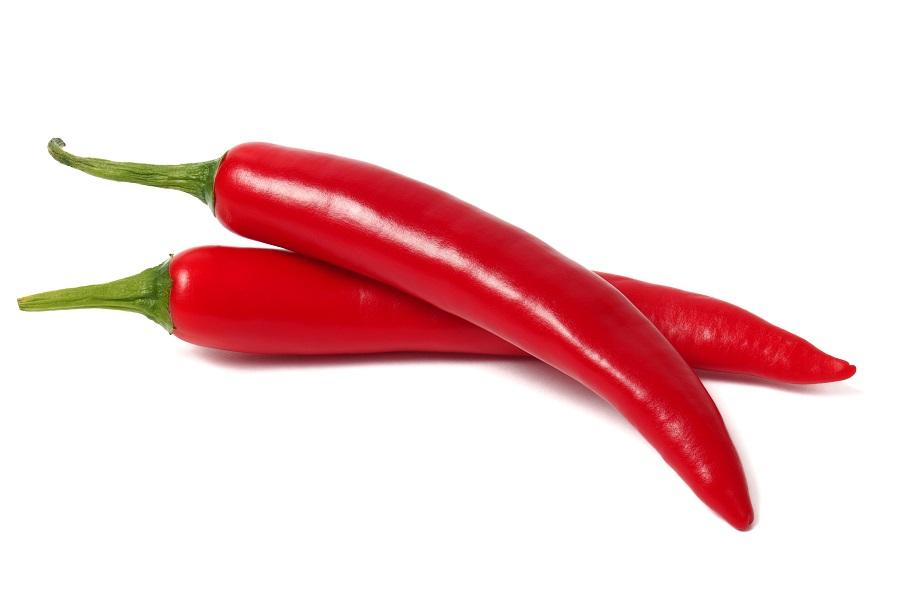 Organic Chillies Cayene Long Red (1kg/bag)