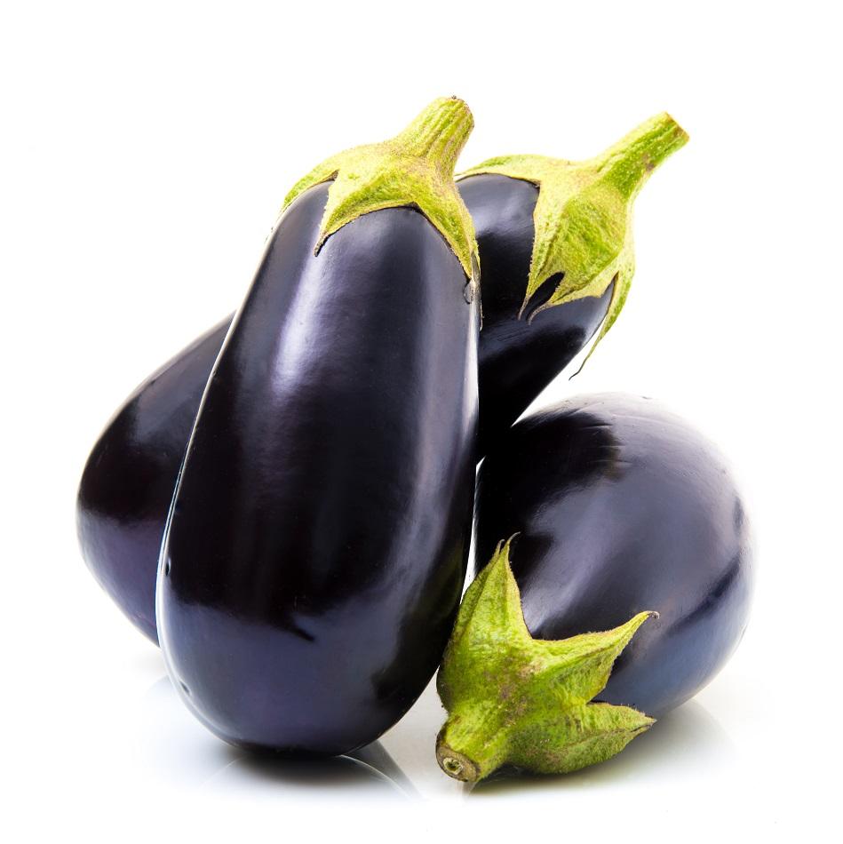 Organic Eggplant Purple (500g)