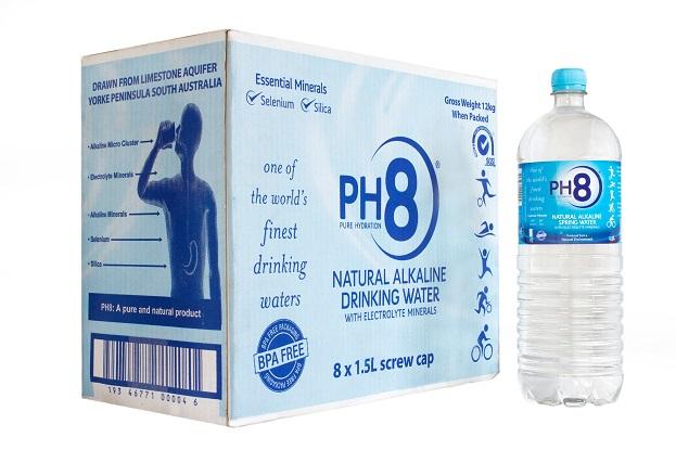 PH8 Water Alkaline 1.5L (8ea/box)