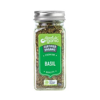 Absolute Organic Herbs Dried Basil 20g