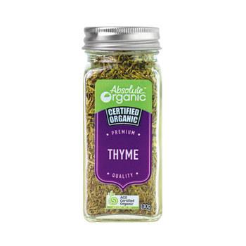 Absolute Organic Herbs Dried Thyme 30g