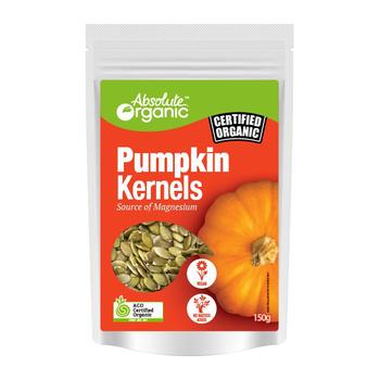 Absolute Organic Seeds Pumpkin Kernals 150g