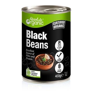 Absolute Organic Beans Black 400g