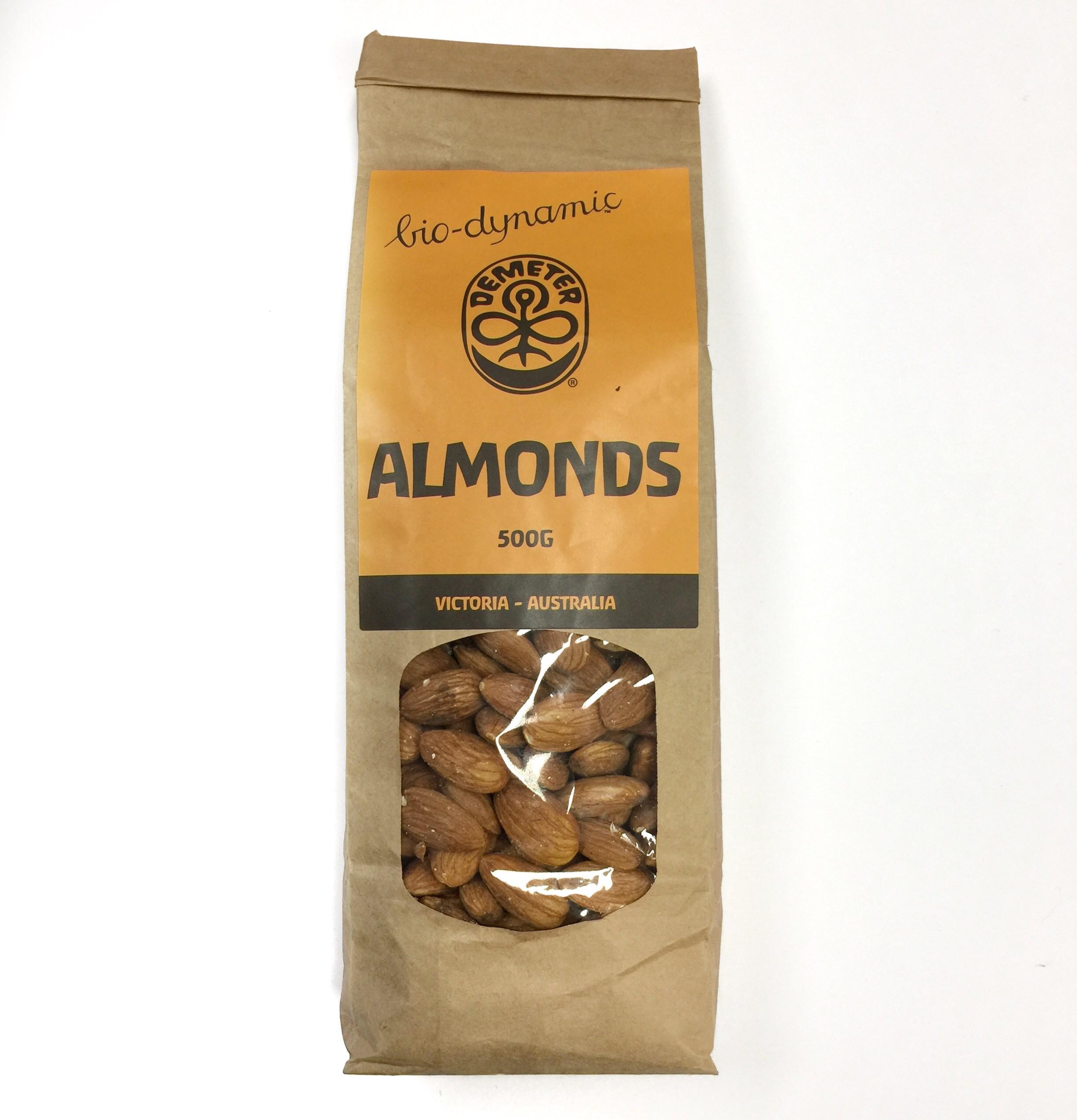BioDynamic Almonds 500g