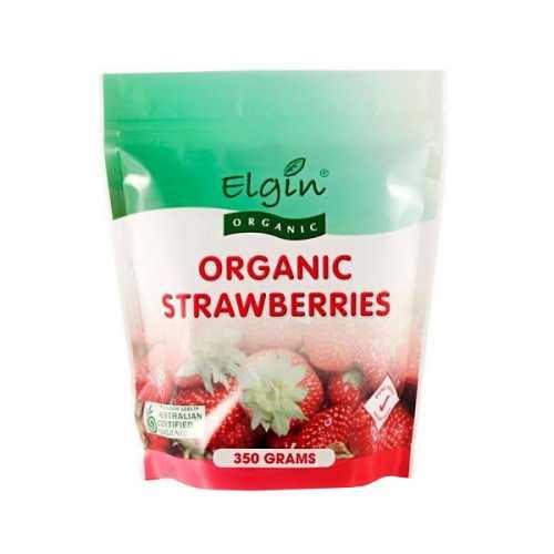Elgin Frozen Organic Strawberries 350g