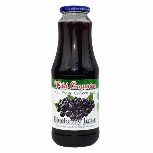 Wild Organica Juice Blueberry 1L