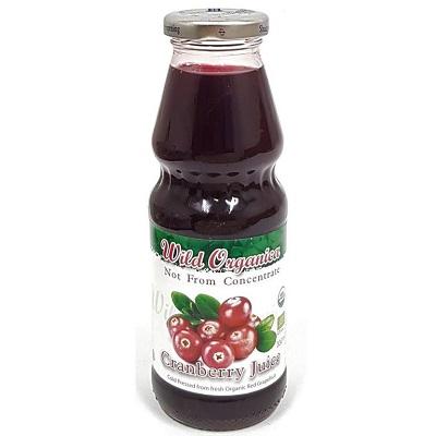 Wild Organica Juice Cranberry 1L