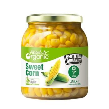 Absolute Organic Corn Sweet 350g