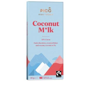 Pico Organic Chocolate Coconut M*lk 80g