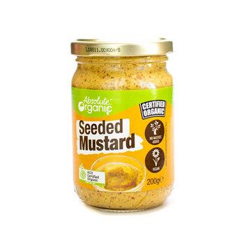Absolute Organic Mustard Seeded 200g