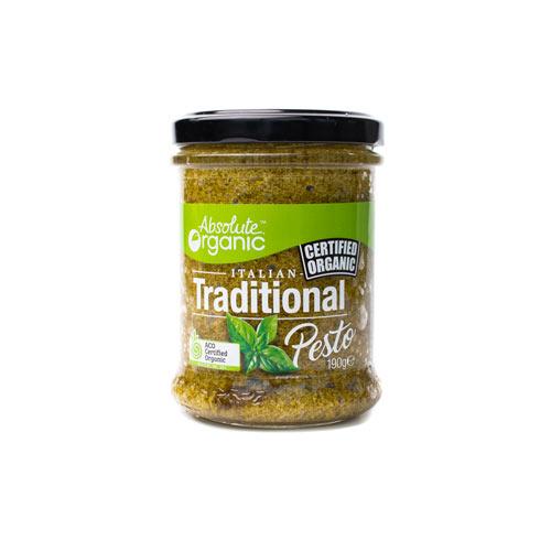 Absolute Organic Pesto Traditional 190g