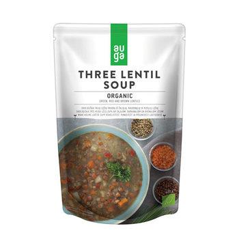 Auga Soup Three Lentil 400g