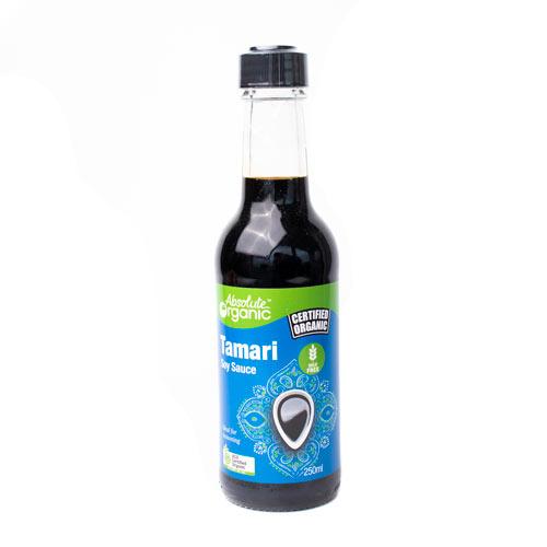 Absolute Organic Sauce Tamari Soy 250ml