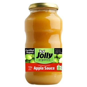 Jolly Organic Apple Sauce 700g