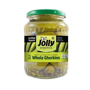 Jolly Organic Whole Gherkins 670g