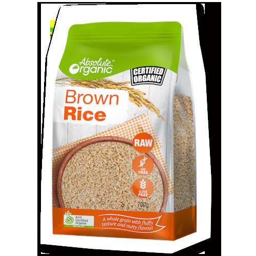 Absolute Organic Rice Brown 700g