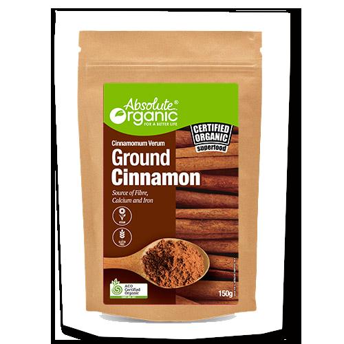 Absolute Organic Ground Cinnamon Ceylon 150g