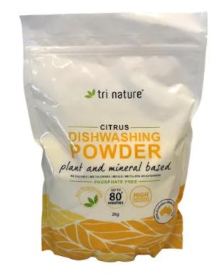 Tri Nature Dishwashing Powder 2kg