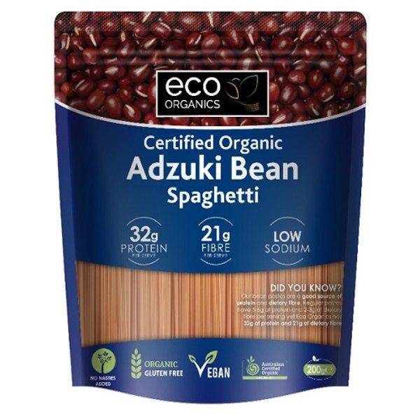 Eco Organics Spaghetti Adzuki 200g